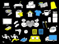 荷造り・片付けのイメージ